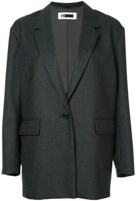 H Beauty&Youth longline tailored blazer