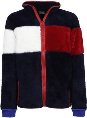 Tommy Hilfiger Striped Zip Cardigan