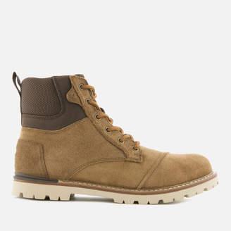 Toms Men's Ashland Waterproof Suede Hiker Boots