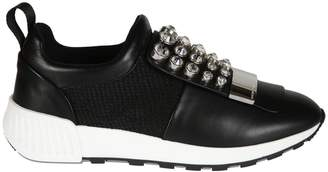 Sergio Rossi Embellished Sneakers