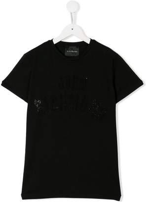 John Richmond Junior TEEN logo appliqué T-shirt