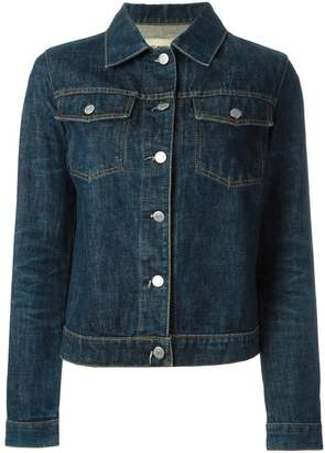 Helmut Lang Pre-Owned classic raw denim jacket