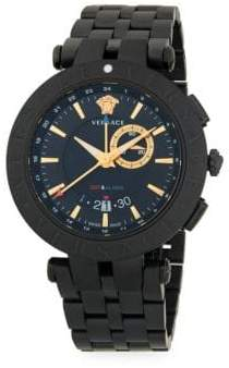 Versace Medusa Stainless Steel Chronograph Watch