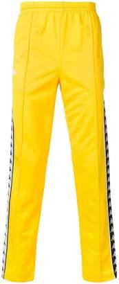 Kappa logo tape detail track pants