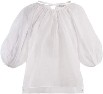 DAY Birger et Mikkelsen CECILIE BAHNSEN Astrid puff-sleeved cotton top