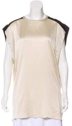 Helmut Lang Silk Sleeveless Tunic