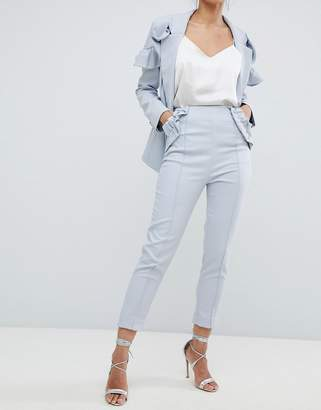 Elliatt Cropped Frill Tailored Trouser