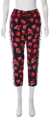 Markus Lupfer Mid-Rise Printed Pants