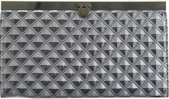 Pyramid Clasp Wallet