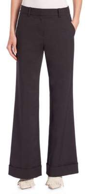 3.1 Phillip Lim Cuffed Wide-Leg Trousers