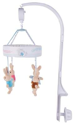 At John Lewis And Partners Rainbow Designs Peter Rabbit Musical Cot Mobile