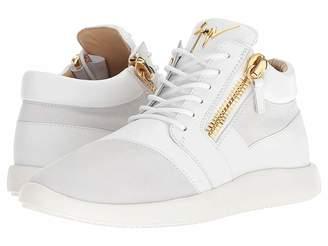 Giuseppe Zanotti Singles Cupsole Nappa/Suede Mid Top Sneaker