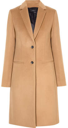 Joseph Man Wool And Cashmere-blend Coat - Camel