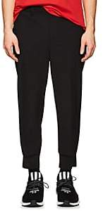 Neil Barrett Men's Ribbbed-Cuff Trousers - Black