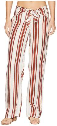 Tory Burch Swimwear Kellen Printed Beach Pants Cover-Up Women's Swimwear