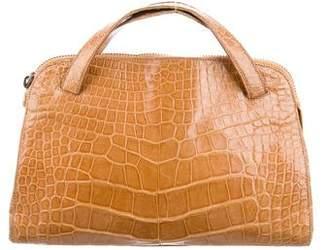 Prada Crocodile Handle Bag
