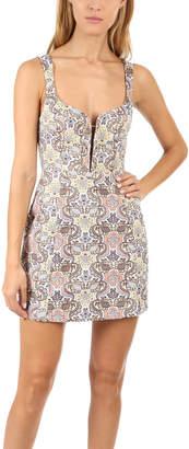 For Love & Lemons Brocade Tapestry Dress