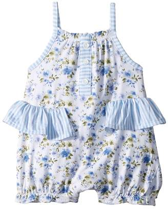 Mud Pie Floral Ruffle Bubble Girl's Jumpsuit & Rompers One Piece