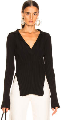 KHAITE Sienna Sweater in Black | FWRD