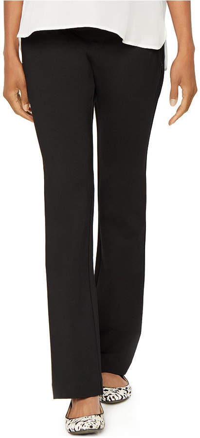 A Pea In The PodA Pea in the Pod Maternity Bootcut Ponte Dress Pants