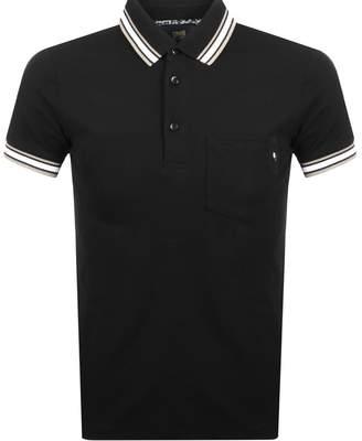 Just Cavalli Cavalli Class Logo Polo T Shirt Black