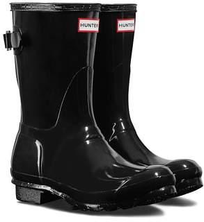 Hunter Short Adjustable Back Gloss Rain Boot