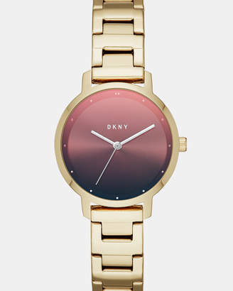 DKNY The Modernist Gold-Tone Analogue Watch