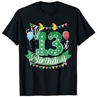 My Birthday T-shirt Party Tee