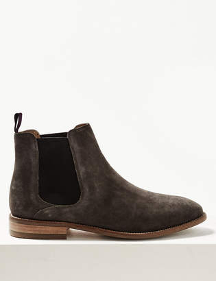 4104ba48915cb M S Collection LuxuryMarks and Spencer Suede Chelsea Boots