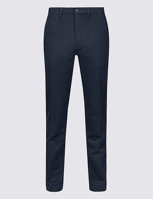 Marks and Spencer Slim Fit Travel Chinos with Stretch