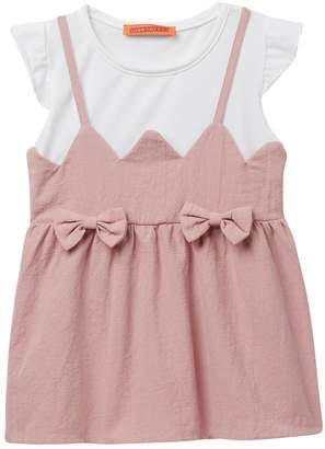 Funkyberry Pinafore Dress (Baby, Toddler, & Little Girls)