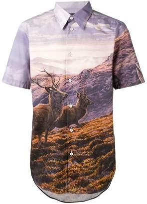 Stella McCartney print short-sleeve shirt