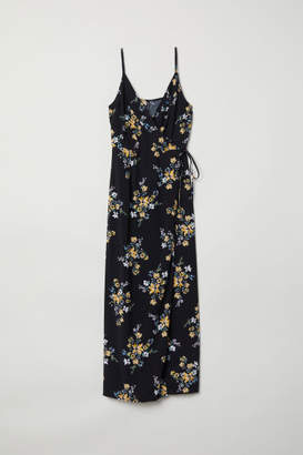 H&M Petite Fit Maxi Dress - Black