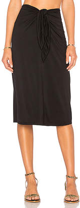 House of Harlow 1960 x REVOLVE Tina Midi Skirt in Black $128 thestylecure.com