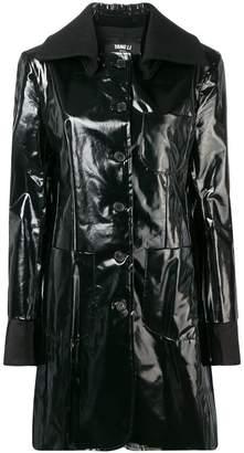 Yang Li buttoned trench coat