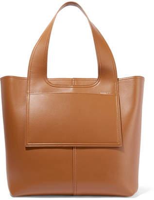 Victoria Beckham Apron Leather Tote - Tan