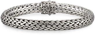 John Hardy Dot Silver & 18k Gold Oval Bracelet, Medium $600 thestylecure.com