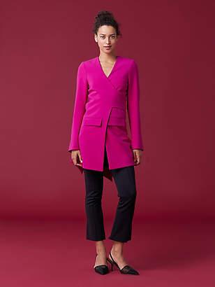 Diane von Furstenberg Cali Front Tie Jacket