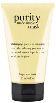 philosophy 'purity Made Simple' Deep-Clean Mask