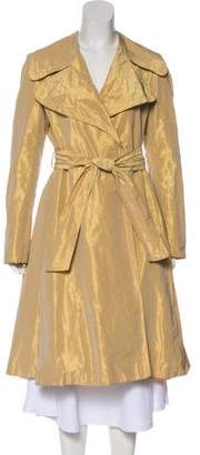 Burberry Metallic Long Coat