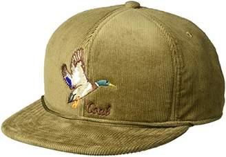 Coal Men's The Wilderness Hat Adjustable Corduroy Snapback Cap
