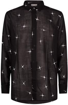 Saint Laurent Shooting Star Print Shirt