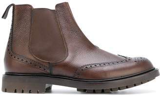 Church's brogue detail Chelsea boots