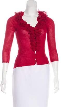 Louis Vuitton Long Sleeve Cashmere Cardigan