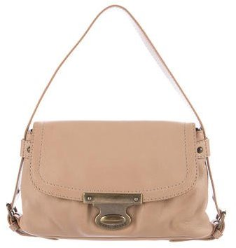 Marc Jacobs Marc Jacobs Leather Flap Handle Bag