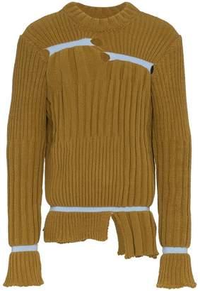 Helen Lawrence chunky chenille elastic pane jumper