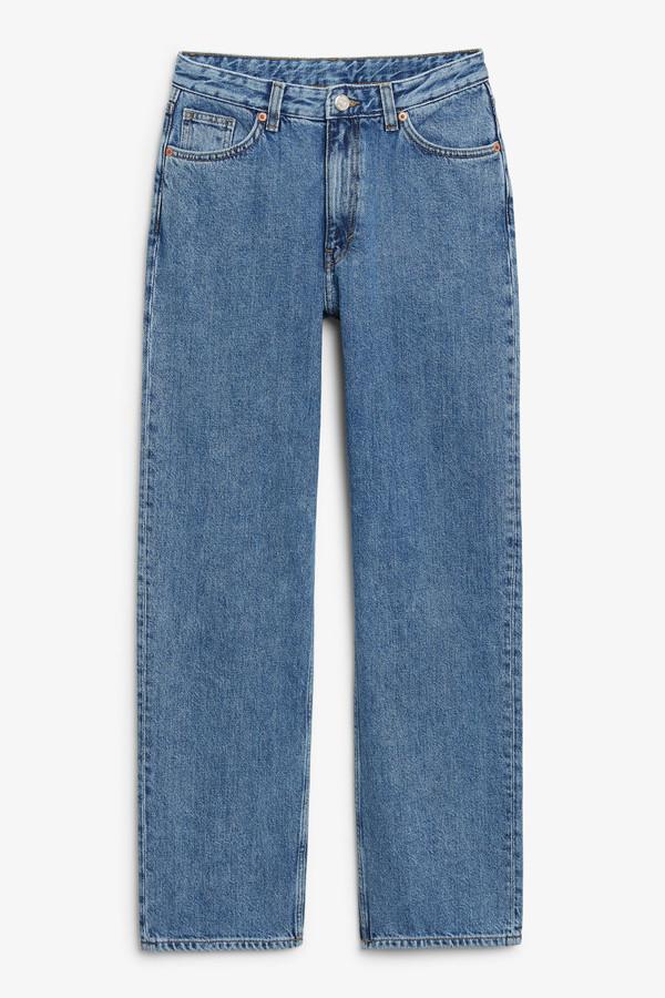 Taiki straight leg blue jeans