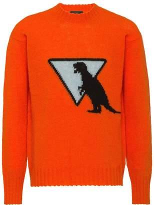Prada Shetland wool crew-neck sweater