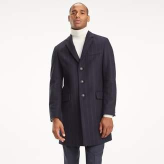 Tommy Hilfiger Wool Chalk Stripe Top Coat
