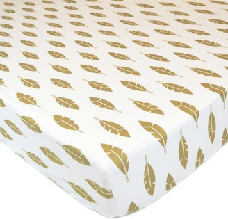 T.L.Care Tl Care TL Care Sparkle Fitted Crib Sheet